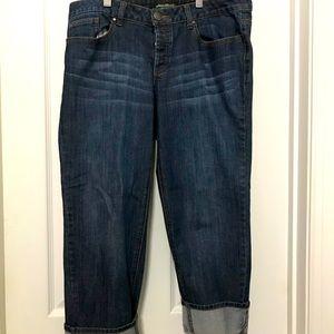 Eddie Bauer button fly jeans